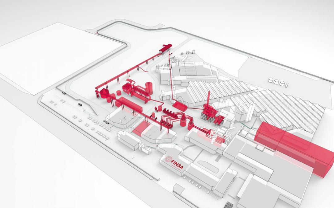 Proyecto nuevo layout ampliación fabrica FINSA