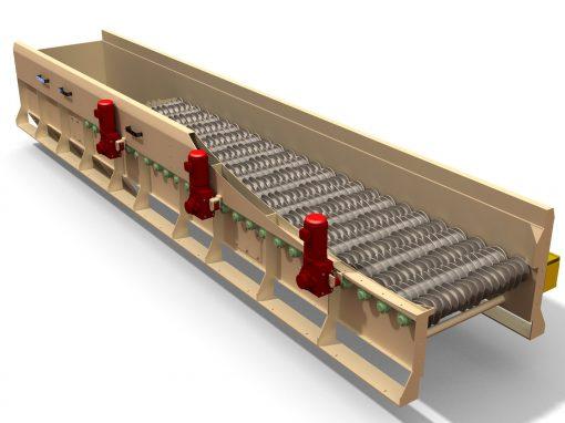 Sistemas de recepción, transporte y cribado de Biomasa