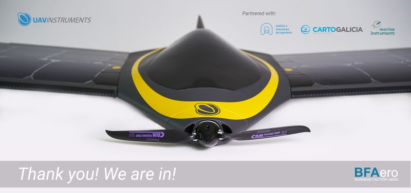 CIES UAV SOLAR de ANSI seleccionado por la BFAERO