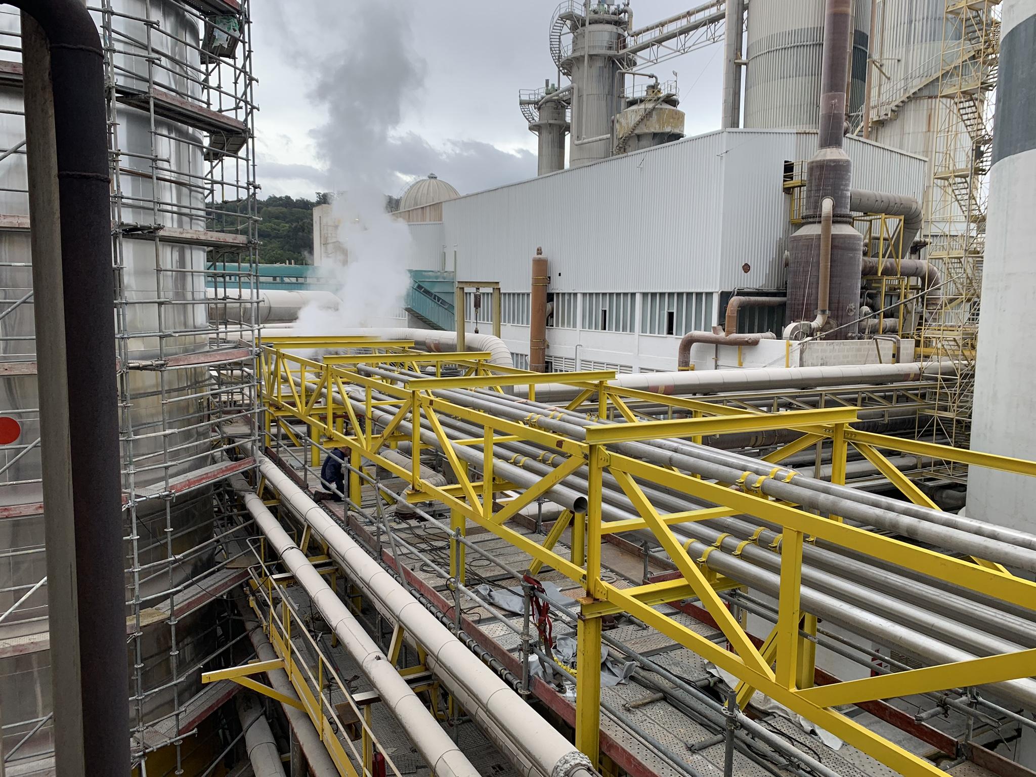 Estructura rack tuberías industriales - ANSI Ingeniería