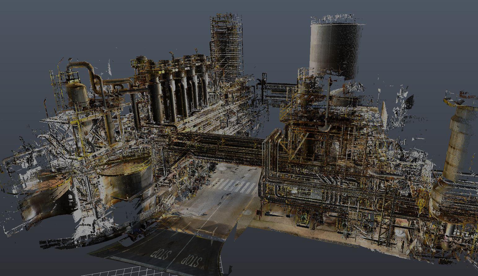 Escaneado láser 3D _ As built - ANSI